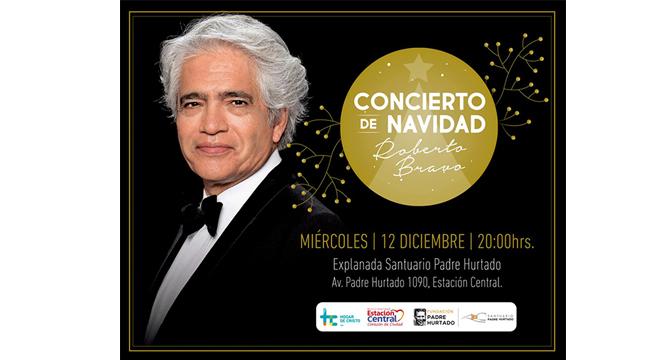 Concierto de Navidad: Roberto Bravo se presentará gratis en el Santuario del Padre Hurtado