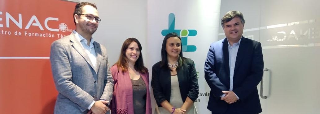 Súmate firmó alianza con Centro de Formación Técnica ENAC